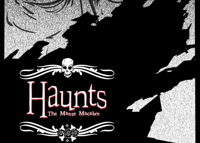 Póster promocional de Haunts: The Manse Macabre