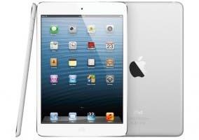 Fotografía de un iPad mini desde distintos ángulos