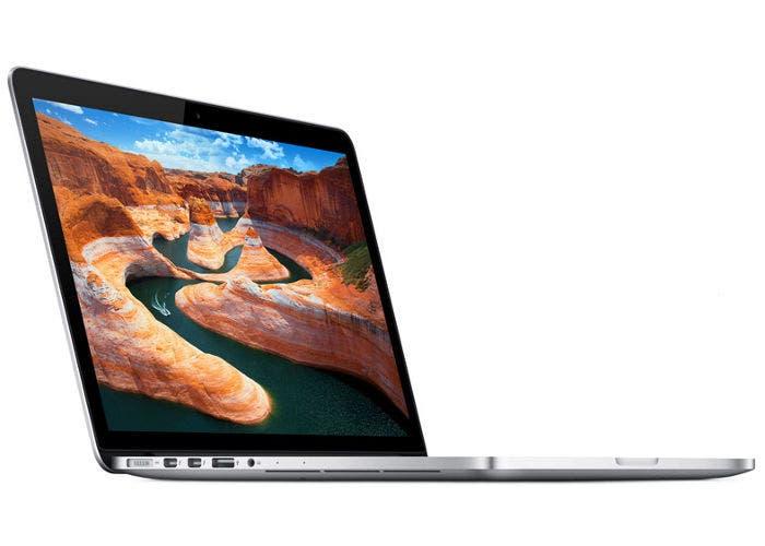 Fotografía del MacBook Pro con pantalla Retina de 13 pulgadas