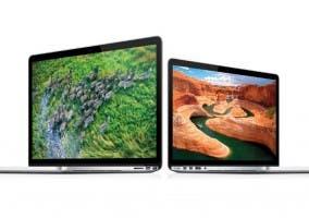 Los MacBook Pro con pantalla Retina de 13 y 15 pulgadas
