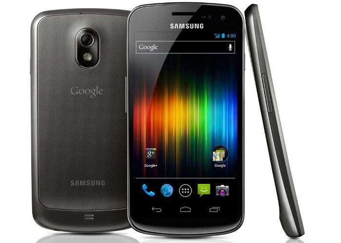 Fotografía de terminal Android Samsung Galaxy Nexus