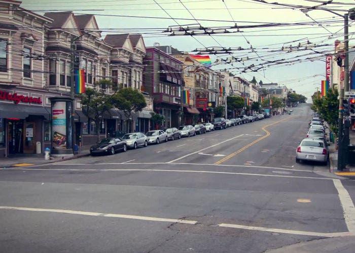 Captura del time-lapse de San Francisco sin personas