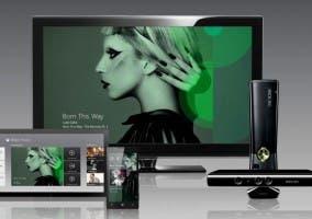 Imagen promocional de Xbox Music