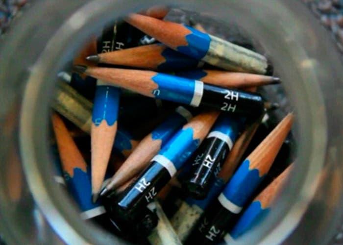 Todos los lápices utilizados por Chris Laponte para City Band