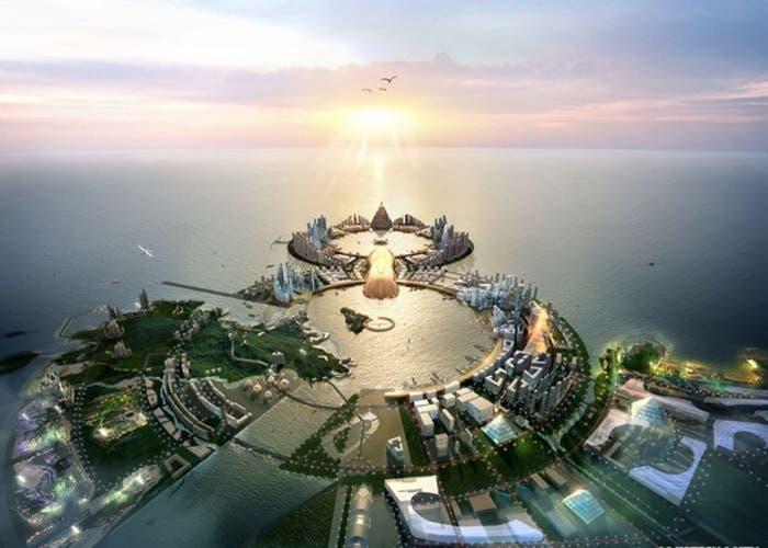 Proyecto de ciudad turística en Corea del Sur