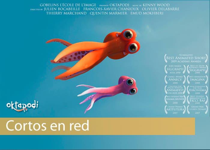 Imagen del cortometraje Oktapodi