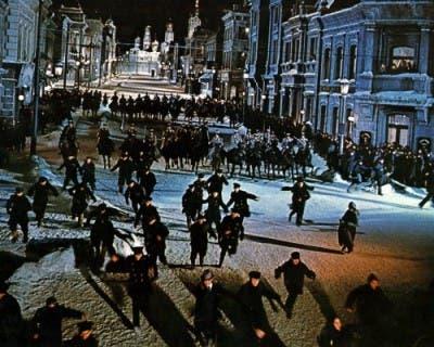 25 películas para la historia Manifestación La Internacional