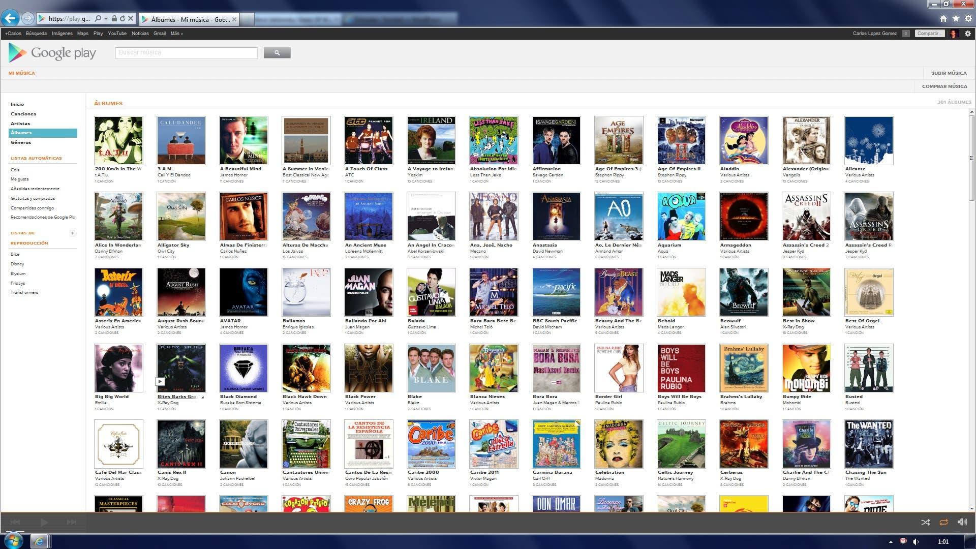 Albumes en Google Play