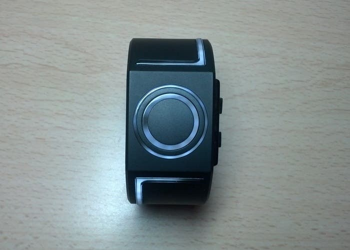 Foto frontal del reloj