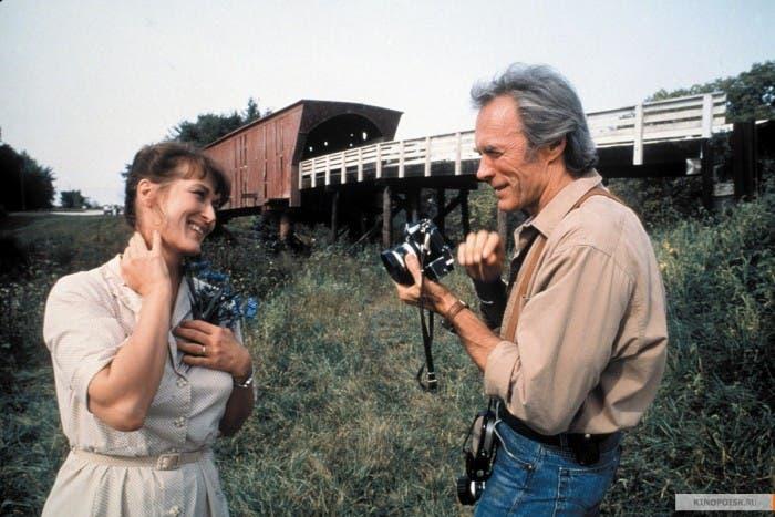 Clint Eastwood y Meryl Streep Fotógrafo y ama de casa