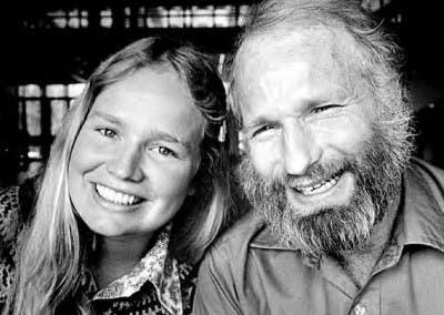 Padre e hija alpinistas