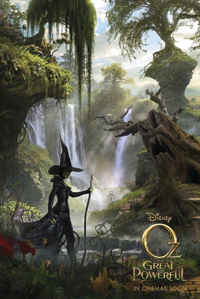 Póster del nuevo filme Oz: Un mundo de fantasía