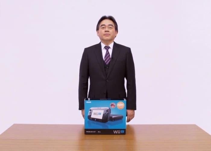 Satoru Iwata Unboxing Wii U