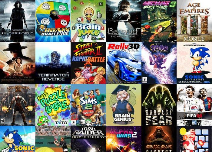 Lista de juegos consola pc móviles