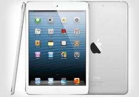 Imagen de un iPad mini de Apple desde varios ángulos