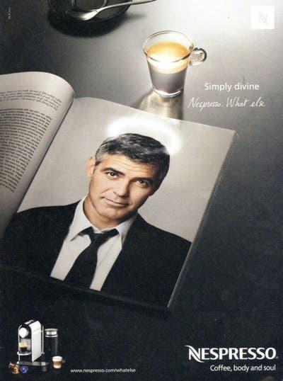 Anuncio de café de Nescafe con George Clooney