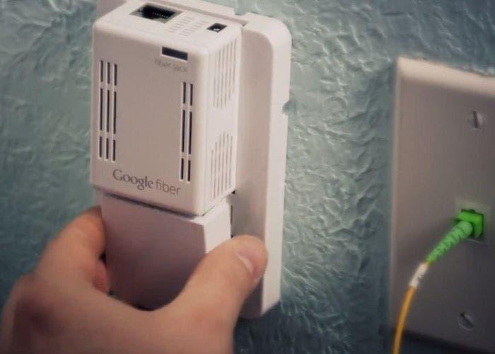 Google Fiber, vídeo de cómo se instala una conexión de un giga en un hogar