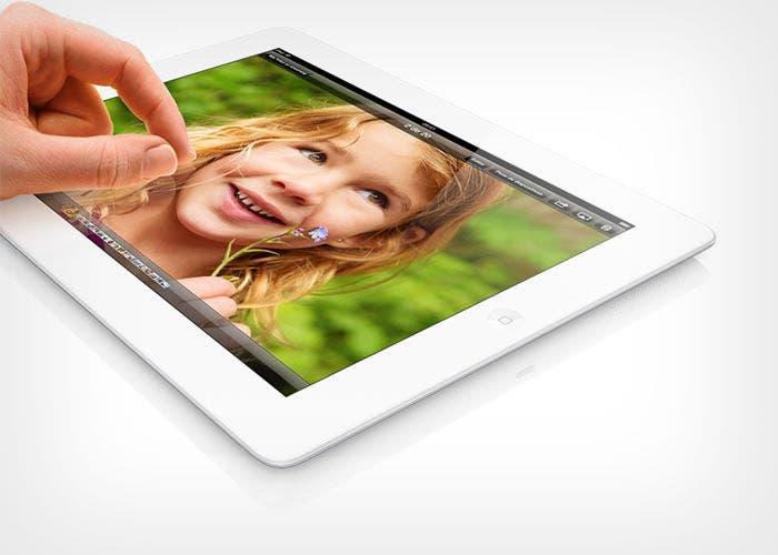 Imagen de un iPad de cuarta generación de Apple