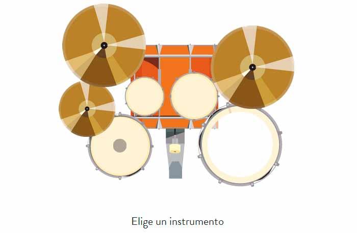 momento en el que elegimos nuestro instrumento musical y nuestro nick