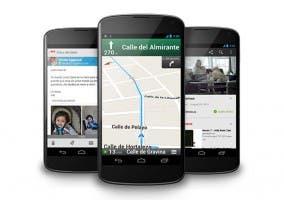Imagen de varios Nexus 4 de LG y Google