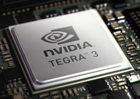 Imagen del procesador NVIDIA Tegra 3