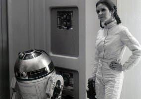 El droide en una escena del film