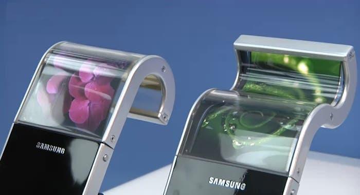 Prototipos de dispositivos con pantalla flexible en el CES