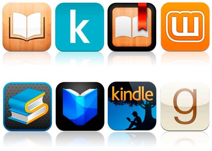 Imagen de todas las apps para leer en ios
