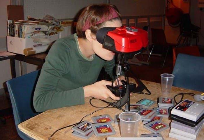 Videoconsola de realidad aumentada Virtual Boy