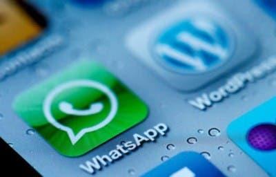 Icono de la aplicación Whatsapp en el Springboard de un iPhone