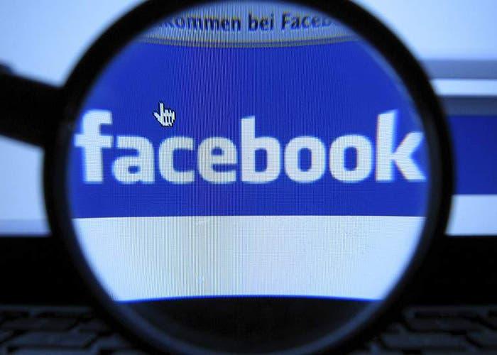 Logotipo Facebook lupa