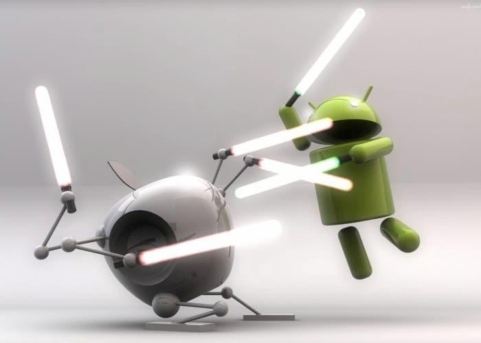Android estaría ganando la batalla a Apple en la guerra de móviles, según Eric Schmidt
