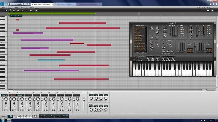 Ejemplo de Audiosauna funcionando