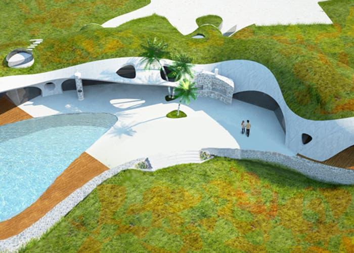 Casas integradas en la Naturaleza