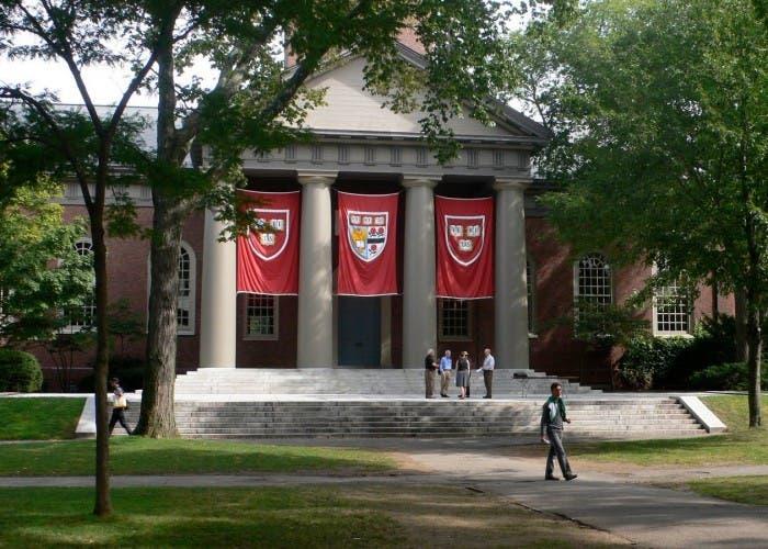 Campus de la Universidad de Harvard en Cambridge