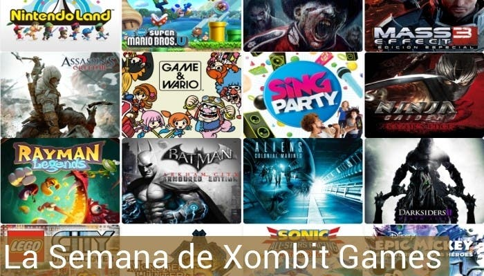 Catálogo de Wii U en Xombit Games