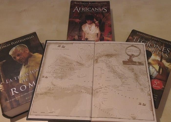 Portada de los libros de Africanus