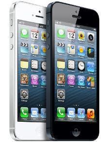 Fotografía de dos iPhone 5 de Apple