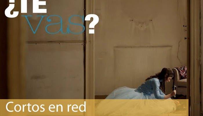 Portada Cortos en red con imagen del cortometraje ¿Te vas?