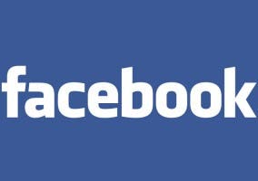 Logo de la red social Facebook