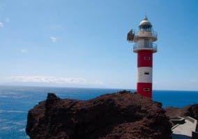 Faro en La Punta de Teno, Tenerife