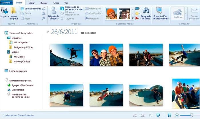 fotos en windows 8