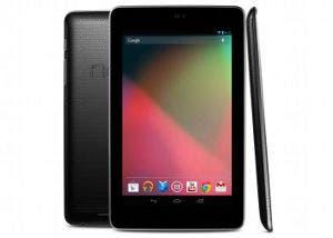 Imagen del tablet Google Nexus 7 desde varios ángulos