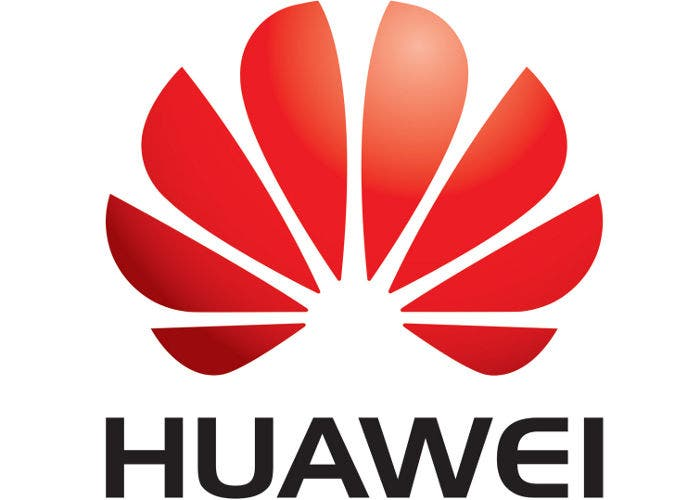 Logo del fabricante de electrónica chino Huawei