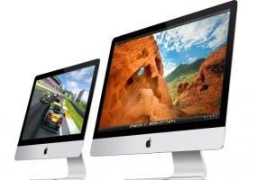 Imagen de un ordenador de sobremesa iMac de Apple del año 2012