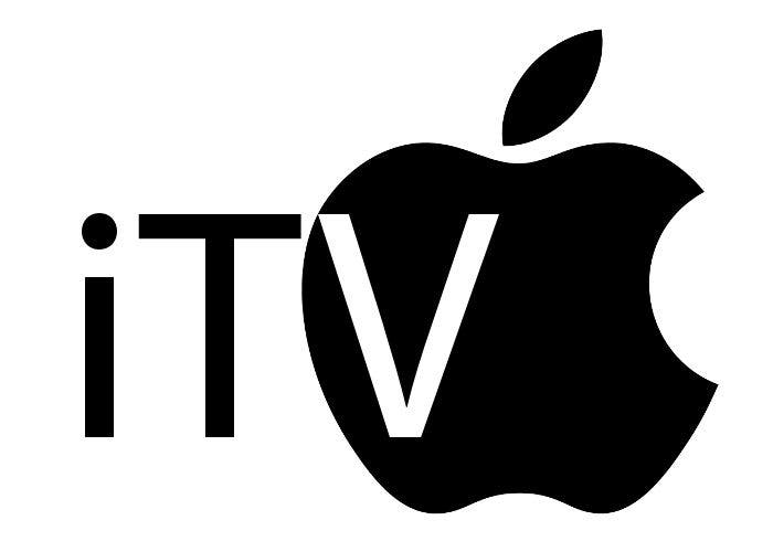 Hipotético logo del televisor iTV de Apple