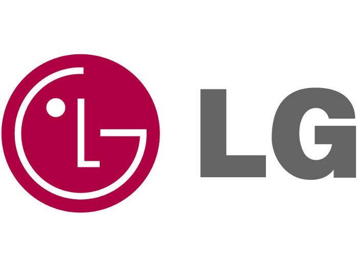 Logo de la firma de electrónica LG