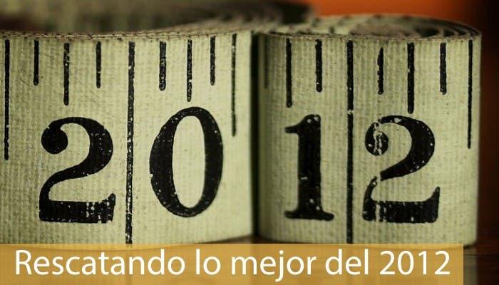 Cabecera de la sección Rescatando lo mejor de 2012