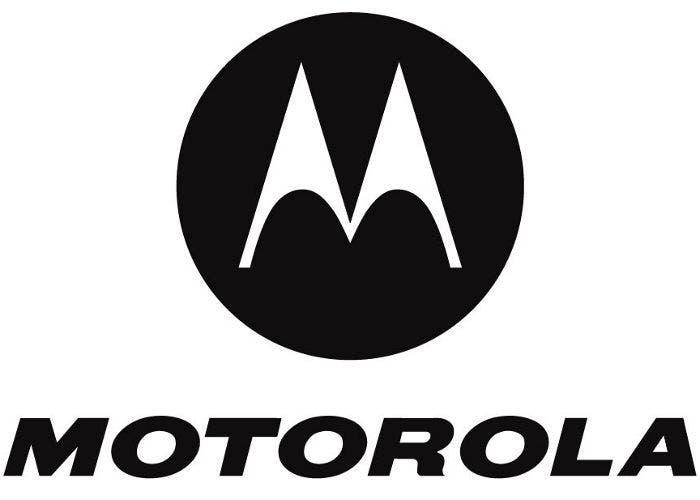 Logo del fabricante de teléfonos móviles Motorola