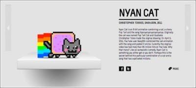 Expliación y foto Nyan Cat